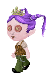 Punk princess is the last outfit I played with.